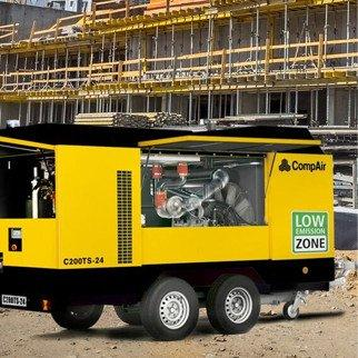 33c9ec919773b2 CompairLaois Hire are the new agents of COMPAIR in Ireland. We stock a huge  range of portable compressors.