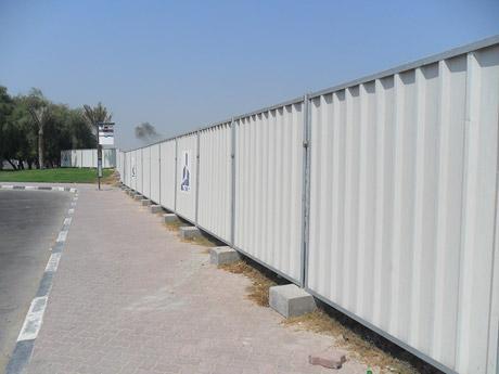 Temporary Hoarding Laois Hire