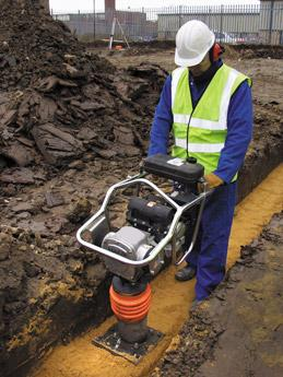 Trench Rammer Laois Hire
