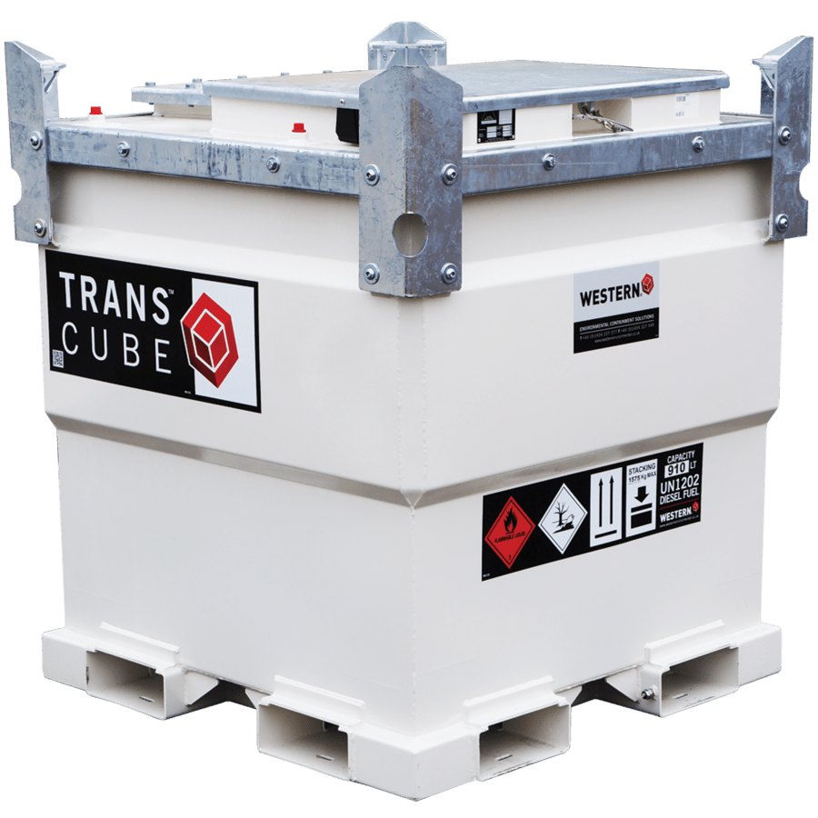 TRANSCUBE Global Bunded Steel Static – Laois Hire