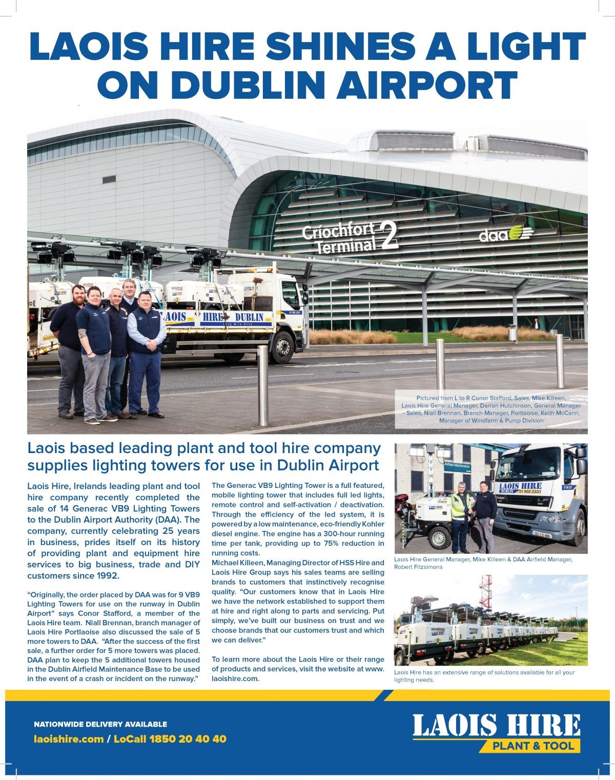 Laois Hire DAA Editorial