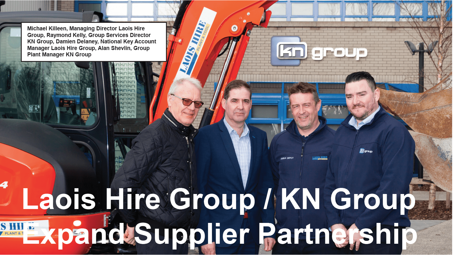 Laois Hire Expand Preferred Supplier Partnership