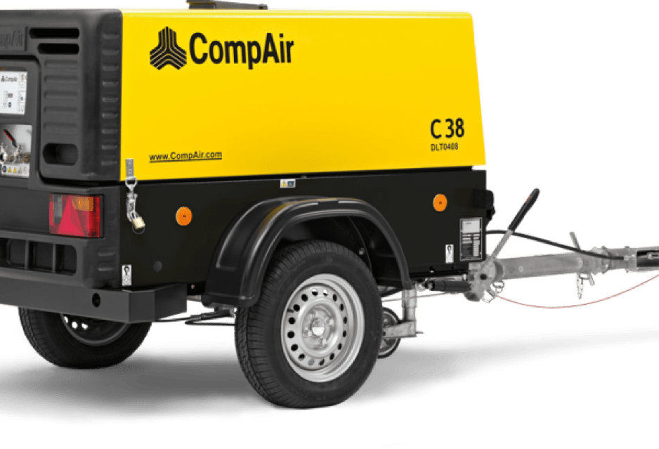 COMPAIR compressors for hire or sale in Dublin