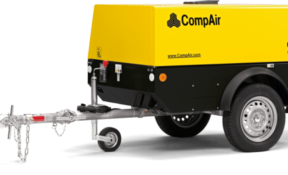 COMPAIR compressors for hire or sale in Laois